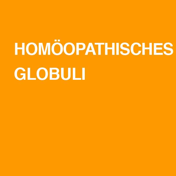 Homöopathische Globuli