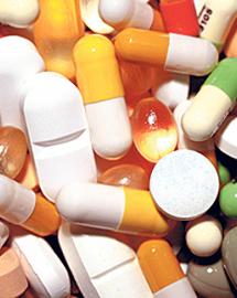 Pillen verschiedener Art, aufgenommen am Mittwoch (15.03.06) in Muenchen.   Foto: Joerg Koch/ ddp  --!!--Dateigrˆfle 97 KB